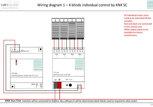Wiring diagram 1 - 4